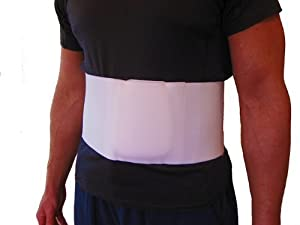 The umbilical hernia belt/truss provides significant relief from abdominal pain associated with an umbilical hernia Foam pad adds rigidity, padding, and provides a non-elastic zone that helps to direct compression on the hernia Cotton/elastic blend p...