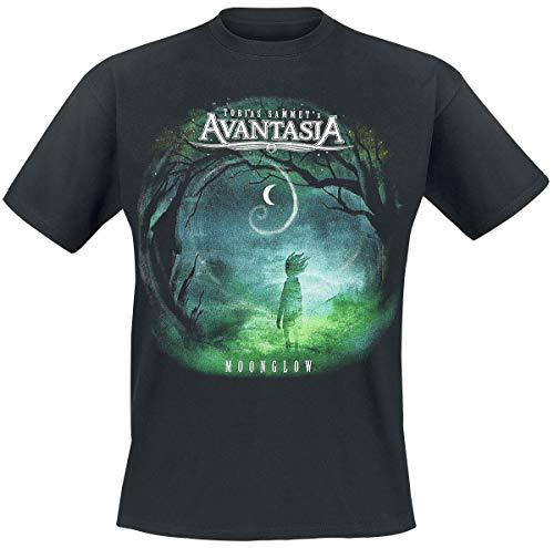 Avantasia Moonglow Männer T-Shirt schwarz XXL 100% Baumwolle Band-Merch, Bands, Nachhaltigkeit
