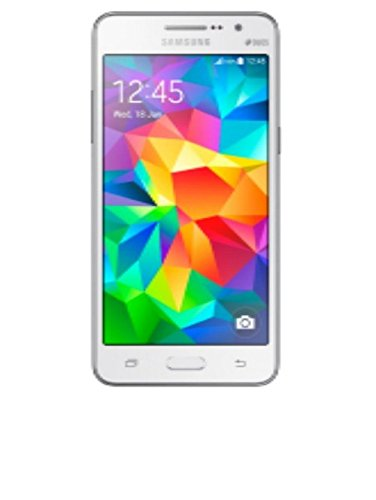 Samsung Galaxy Grand Prime Dual SIM Simfree 5 Inch Touchscreen Smartphone - White, [Importado de UK]