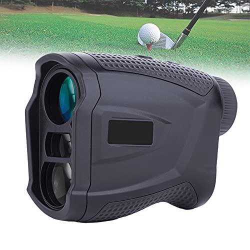 FRIBLSKEL Telemetro Alta Precisión 1000 Yd Medidor Distancia Láser Golf,Aumento 7X Y Carga USB, Precisión ± 0,5 M con Medición Continua/Bloqueo Asta Bandera/Memoria Datos,Negro