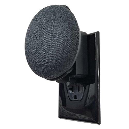 Dot Genie Google Home Mini Backpack: el soporte para montaje en pared de salida más sencillo y más limpio para mini asistentes de voz...