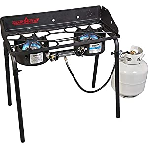 Camp Chef Outdoor Cooking Two-Burner High Pressure Camp Stove