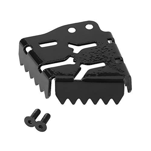 KSTE achter motorfiets-remhendel pedaal uitbreiding compatibel met Piano Tip Compatibel met KTM 990 1190 1290 Black