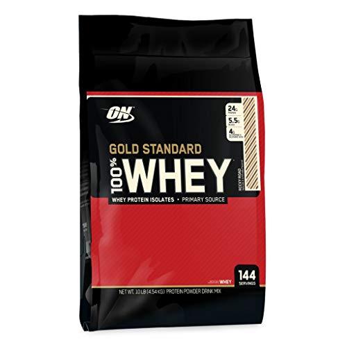 Optimum Nutrition - 100% Whey Gold Standard 4540g Beutel Strawberry