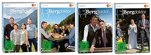 Der Bergdoktor Staffel 11-14 (11+12+13+14, 11 bis 14) [DVD Set]