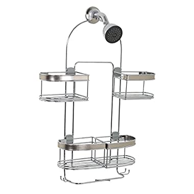 Zenna Home E7546STBB, Expandable Over-the-Showerhead Caddy, Stainless Steel