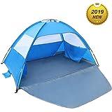 Best Beach Shelters - Venustas Beach Tent Beach Umbrella Outdoor Sun Shelter Review