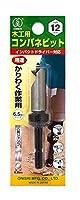 大西工業  コンパネビット<ストッパー付>(NO.18) 12mm