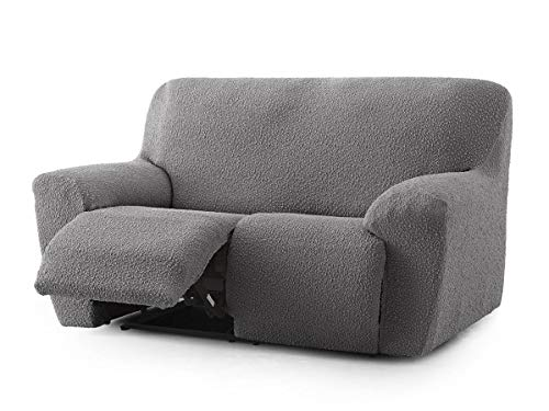 Lanovenanube - Funda sofá Relax ROC - 2 plazas - Color Gris Oscuro C16