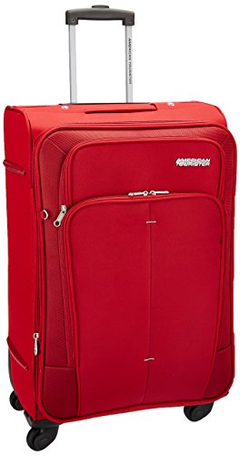 American Tourister Polyester 44 cms Red Softsided Suitcase (49W (0) 00 002)
