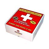 Cadeau anniversaire original. Remèdes pour passer le cap. Boite à pharmacie avec 10 imitations de médicaments. Contient des bonbons.