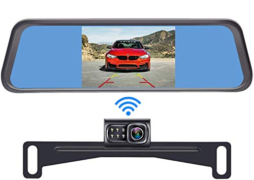 DoHonest S4 Digital Wireless Backup Camera Kit, License Plate Rear...