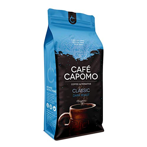 Capomo Herbal Coffee Substitute - Acid, Caffeine And Gluten Free - Natural Dark Roast - Maya Nut - 11 oz.'s - From Tattva's Herbs