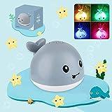 QUMOX Juguetes de baño para bebés Juguetes de rociadores de baño de Ballena con rociador de Agua eléctrico para niños
