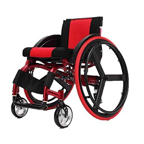 Wheelchair Rollstuhl Faltbar, Sport Und Manuellem Faltrollstuhl Aus Aluminiumlegierung, Selbstfahrender Rollstuhl Mit Anti Heck Kippvorrichtung