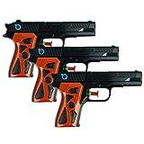 Schramm 3er Pack Wasserpistole Agent Wasserpistolen Wasser Pistole Water Gun Watergun Wassergewehr...