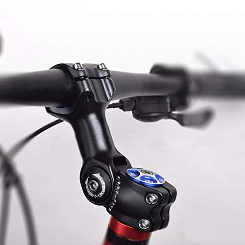 SALUTUYA Vástago de Manillar de Bicicleta de Alta Resistencia, para Manillar de 25,4 mm de diámetro o 31,8 mm(90mm, Caliber 25.4mm)