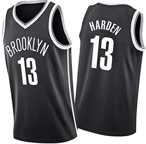 GIHI Camisetas De La NBA,Camisetas De Baloncesto De Los Brooklyn Nets James Harden # 13,Camiseta De Entrenamiento Unisex De Tela Fresca Y Transpirable,XL(180~185CM/85~95KG)