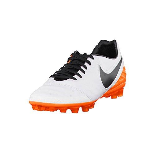 Nike Tiempo Legacy II AG-R, Scarpe da Calcio Uomo, Bianco (Blanco (White/Black-Total Orange)), 41 EU