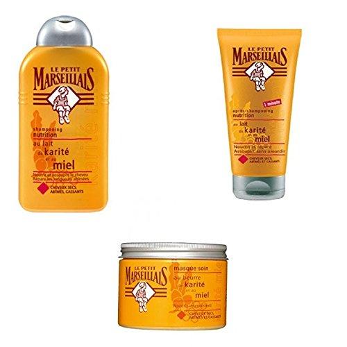 Le Petit Marseillais Haarpflege Set für trockenes Haar