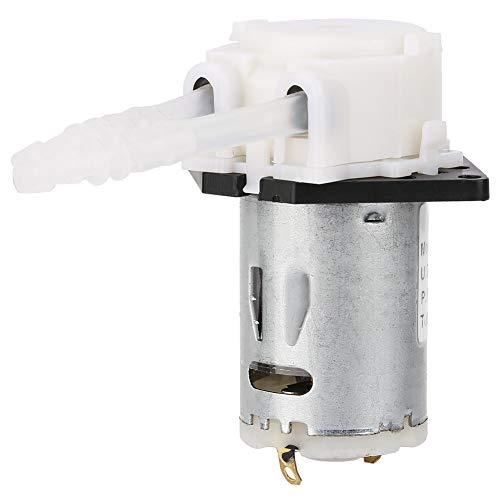 Dosierpumpe Peristaltischer Kopf Chemische Wasserflüssigkeit DIY Peristaltischer Rohrkopf Für Aquarium Laborchemische Analyse (Farbe : Weiß)