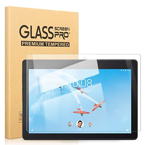 Pnakqil [2 Piezas Protector de Pantalla para Lenovo Tab E10 Protector de Cristal Vidrio Templado Premium Transparencia HD [Anti-arañazos] [No Burbujas] para Lenovo Tab E10 (TB-X104F)