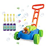 ToyVelt Bubble Lawn Mower for Kids - Automatic Bubble Machine with Music Sounds Best Toys for...