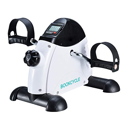 BOOKCYCLE Pedal Exerciser Desk Exercise Bike for Leg and Arm Cycling Training