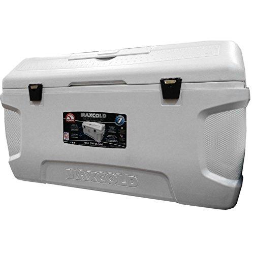 Igloo Große Kühlbox MaxCold, für 156 Liter oder 280 Dosen, Weiß
