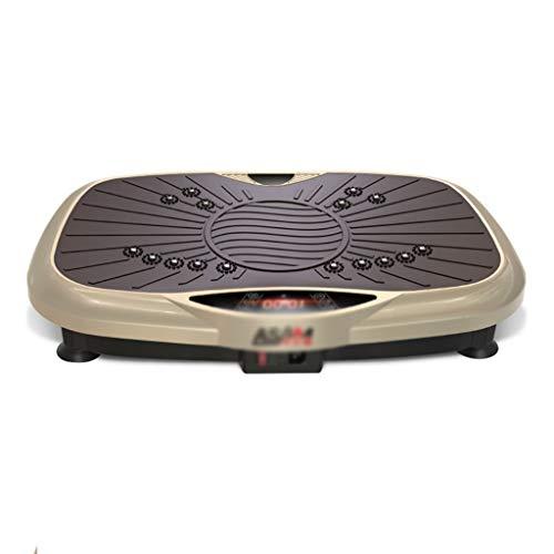 Placa Vibratoria Crazy Body Shaker Massage Fitness Home Sports Fitness Máquina De Pérdida De Peso/Consigue Una Buena Figura Control Remoto Inalámbrico Ajuste De 99 Velocidades