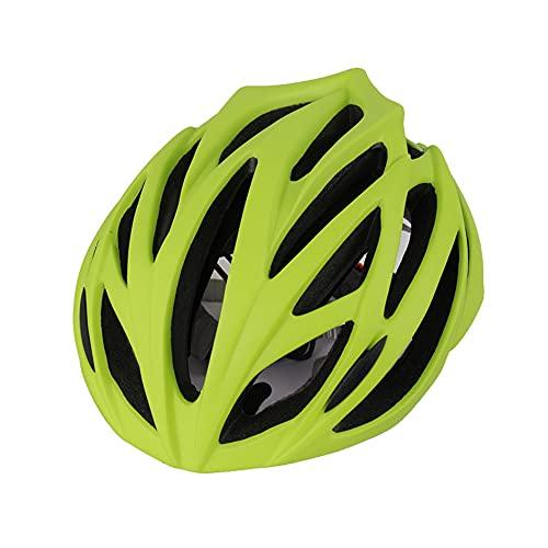 Tyssfzd Fahrradhelm für Herren Damen Mountainbike Helm,Fahrradhelm für Herren Damen Städtischer Pendler,Mehr Sicherheit Leichter Stadt-Fahrradhelm mit Abnehmbares Leichte MTB Helm,53-63cm,Grün