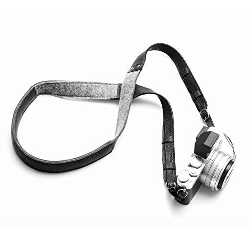 Woolnut Camera Strap - Black, 13 inches, WNUT-CS-A-324-BK