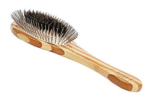 Bass Brushes | The Hybrid Groomer | Shine & Condition Pet Brush | Patented & Award Winning Pet...