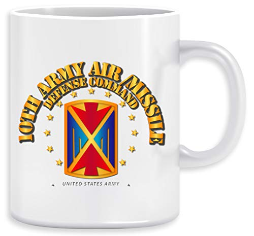 10th Army Air and Missile Defense Command - 10th Army Air And Missile Defense Command Tazza Ceramic Mug Cup