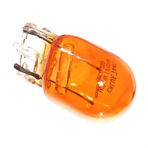 2x W3x16d Lampen Gelb Amber 12V W21W Glassockel Blinker Lampen Blinklicht Birne Stecksockel [D] NEU Old-Harvest