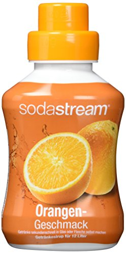SodaStream 4er Sirup-Packung Orange (4 x 500ml)