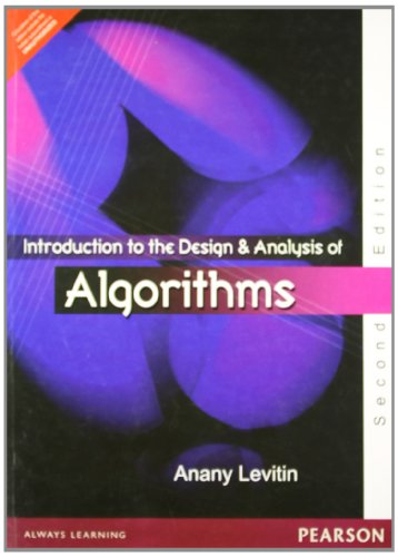 Introduction to the Design Analysis Of Algorithm 2nd ED