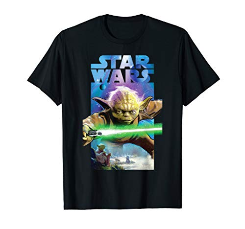 Star Wars Yoda Poster T-Shirt