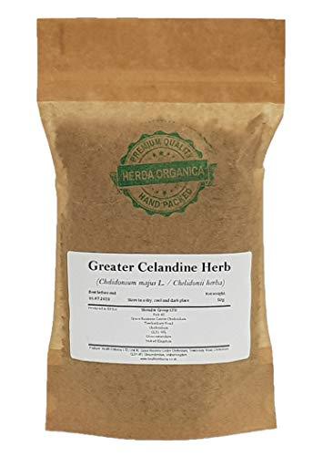 Schöllkraut / Chelidonium Majus L / Greater Celandine Herb # Herba Organica # Große Schöllkraut, Affelkraut, Schälerlkraut (50g)
