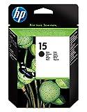 HP 15 C6615DE cartouche d'encre Authentique, imprimantes HP DeskJet, HP Fax, HP OfficeJet, HP PSC, Noir