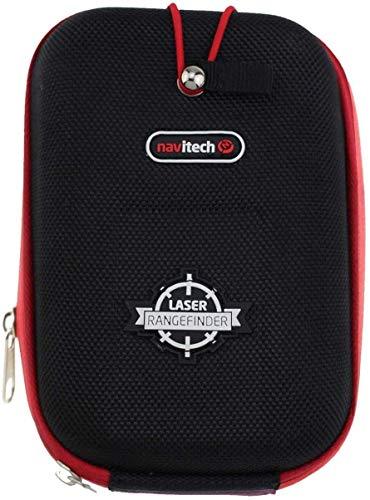 Navitech Estuche Rígido/Tapa Negra EVA Telémetros con Mosquetón Compatible con El Nikon Forestry Pro Laser rangefinder