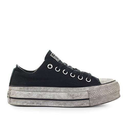 Converse Dames Schoenen Alle Ster Chuck Taylor Gerookte Zwarte Sneaker SS 2019
