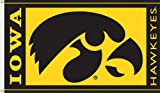 NCAA Iowa Hawkeyes 3-by-5-foot Flag