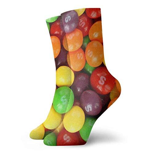 QUEMIN Weihnachtsgeschenk Kegeln Socken Classic Leisure Sport Kurze Socken 30cm Geeignet für Männer Frauen