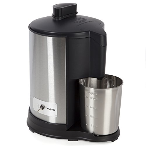 Waring WJE328U Juice Extractor, Brushed Stainless Steel by Waring