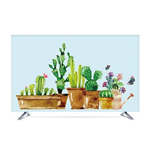 YMYP08 TV Dust Cover, Indoor TV Computer Screen Protection Cover Modern En Eenvoudig 19in-80in, Compatibel met alle tv-merken (kleur: F, Maat : 75in)