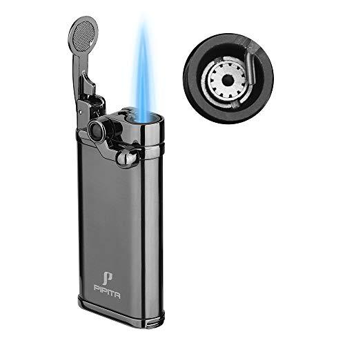 【高い品質】(2個セット) PIPITA ライター 葉巻ガスライター 携帯便利 注入式 ジェットライター 防風 充填式 直噴ターボライター タバコ ろうそく火起こし ライター キャンプ(ガスなし)