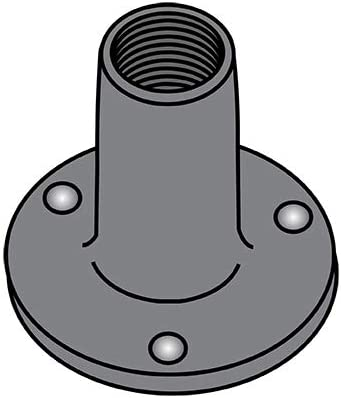 10-24X9 32 Weld Nut with Projections .750 Seasonal Wrap Introduction Austin Mall Base Round Steel Plain