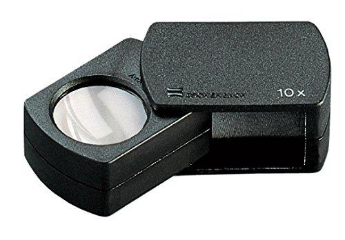 Einschlaglupe [Eschenbach 110910] Vergrößerung 10x, Linsengröße Ø23 mm
