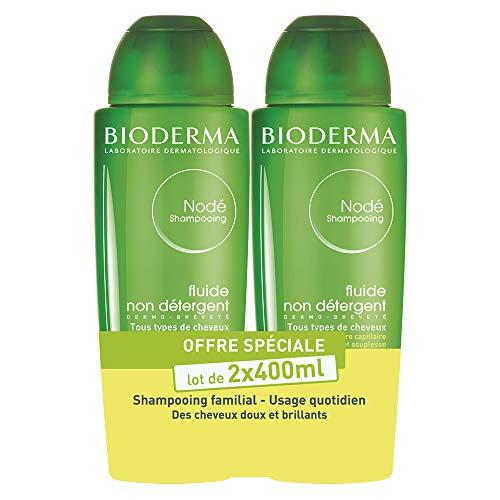 Nodé Fluide – Lot de 2 x 400ml   Nettoie en douceur – Redonne brillance et souplesse aux cheveux  Tous types de cheveux
